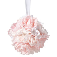 Blush Pink Flower Kissing Ball (6 Inch)