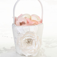 Chic and Shabby Flower Basket