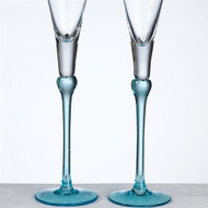 Aqua Toasting Glass Set