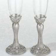 Jeweled Toasting Glass Set