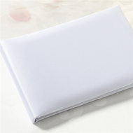 Satin Traditional Guest Book in White