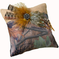 Camouflage Ring Pillow