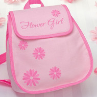 "Pink ""Flower Girl"" Backpack"