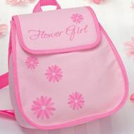 "Pink ""Flower Girl"" Backpack"