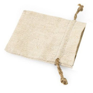 Mini Linen Favor Bag with Jute Drawstring (Set of 12)