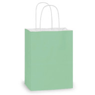 DIY Aqua Paper Gift Bag (Welcome Bag)