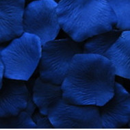 Blue (Colbalt Blue) Silk Petals {Package of 100}