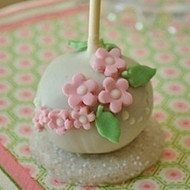 Hand Decorated Mini Floral Cake Pops