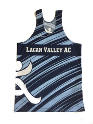 Lagan Valley AC Men's Vest Front