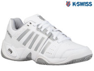 K-Swiss Accomplish III Ladies Tennis Shoe **NEW** (White/Grey)