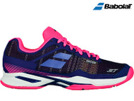 Babolat Jet Mach I Clay Ladies Tennis Shoe (Estate Blue/Pink)