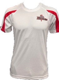 Northern Knights Kids Training T- Shirt (White/Red)