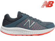New Balance W420 CS4 Womens Running Shoes (Grey/Red)