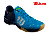 Wilson Vertex Mens Indoor Squash Shoe (Hawaiian/Navy Blaze/Acid Lime)