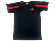 Northern Knights Kids Training T- Shirt Navy/Red