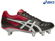 Asics Lethal Tackle Adult Rugby Boots (Black/Red)