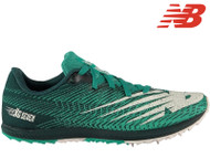 New Balance XC Seven Ladies Running Spikes (Green/Black)
