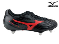 Mizuno Waitangi Junior Rugby Boot (Black/Red)
