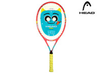 "Head Novak 25"" Kids Tennis Racket (Yellow/Orange)"
