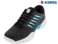 K-Swiss Bigshot Light 3 Omni Mens Tennis Shoe (White/Black/Blue)**NEW**