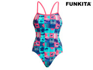 Funkita Club Tropicana Girls Single Strap One Piece Swimsuit