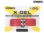Karakal X-Gel Racket Grip (Red)
