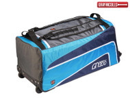 Gray Nicolls 300 Wheelie Bag (Blue/Black)