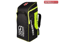 Gray Nicolls 100 Duffle Bag (Black/Fluorescent Yellow)