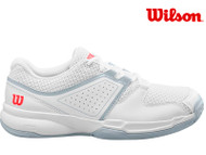 Wilson Court Zone Ladies Tennis Shoe (White/Pearl)
