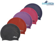 Swimtech Silicone Swim Caps One Size