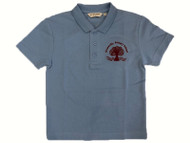 Stranmillis Primary School Sky Blue Poloshirt (Adult Sizes)