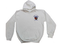 Victoria College White Hoody (Junior) with option for initials