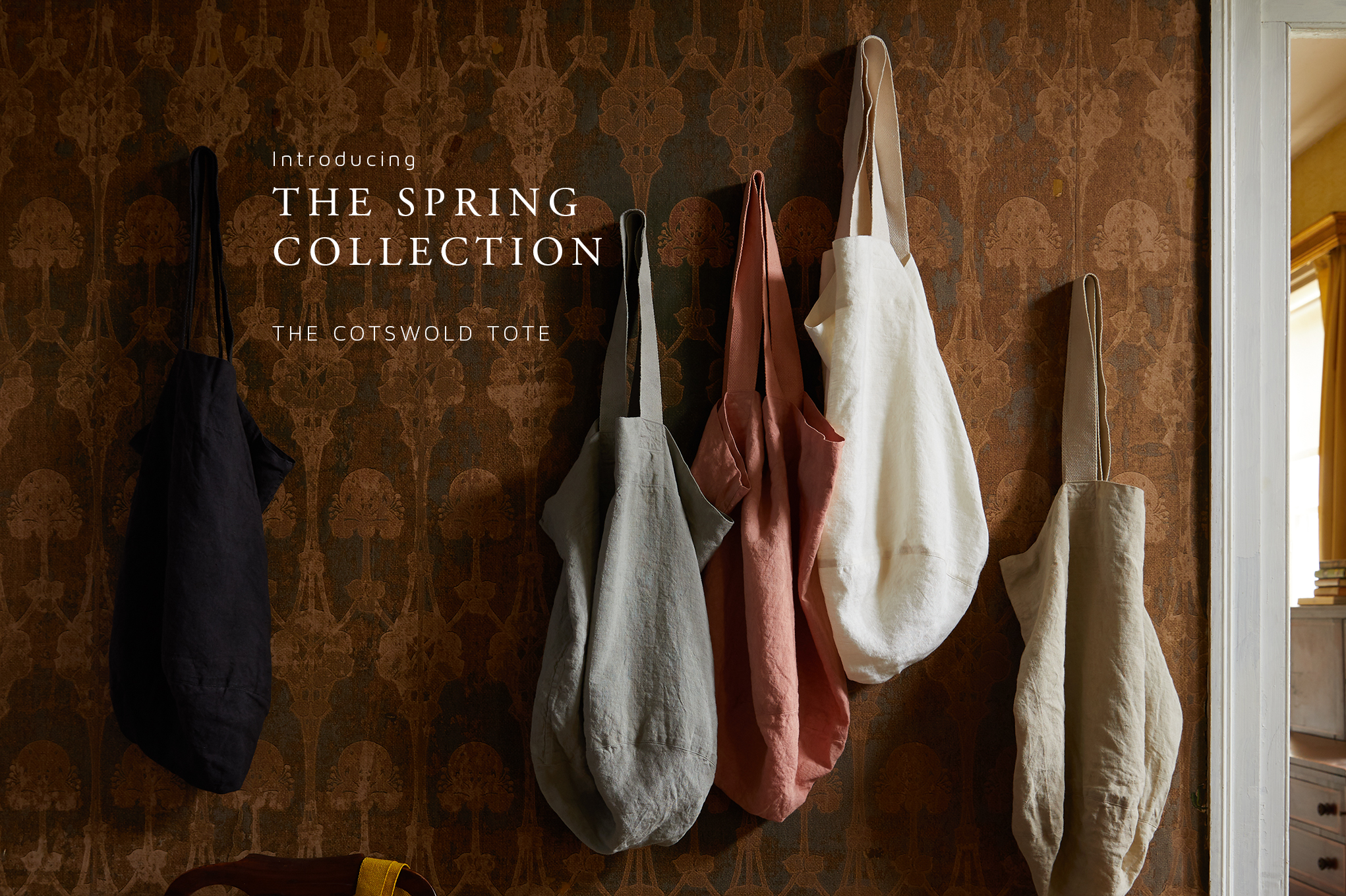 Introducing the Spring Collection: The Cotswold Tote