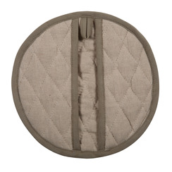 LINEN KITCHEN MITT, NATURAL