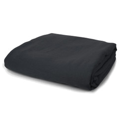 PURE LINEN DUVET COVER, Faded Black