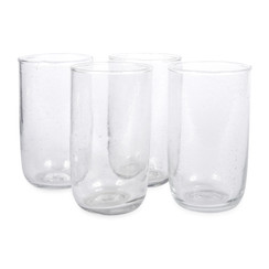 Tall Seeded Glasses