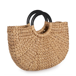 Small Demilune Basket Tote