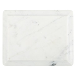 WHITE MARBLE OGEE SLAB, SMALL