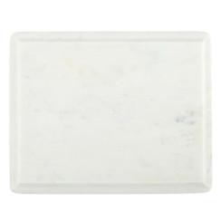 WHITE MARBLE OGEE SLAB, MEDIUM