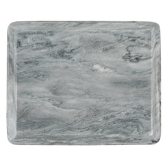 GRAY MARBLE OGEE SLAB, SMALL