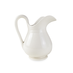 STONEWARE AVIARY PITCHER, FLOUR NO. 3