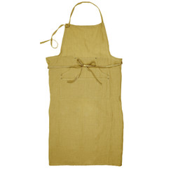 Linen Grand Apron, Curry
