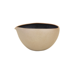 Ozu Ceramic Sugar Cup, Matte Clay