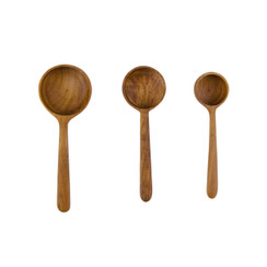 Teak Root Measuring Ladles Set/3