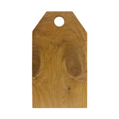 Teak Root Bevel-Edge Cutting Board