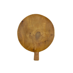 Teak Root Paddle Tray Large