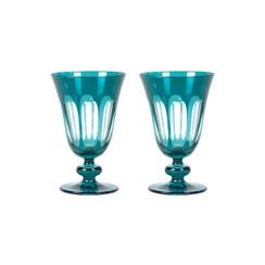 Rialto Glass Tulip Set/2, Millicent