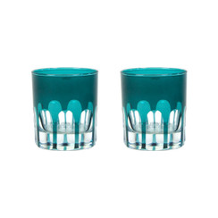 Rialto Glass Old Fashion Set/2, Millicent