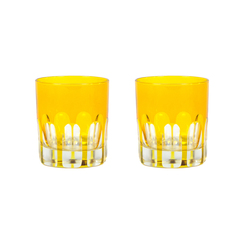 Rialto Glass Old Fashion Set/2, Ginger