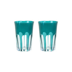 Rialto Glass Tumbler Set/2, Millicent